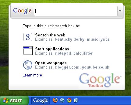 Google toolbar downloads.