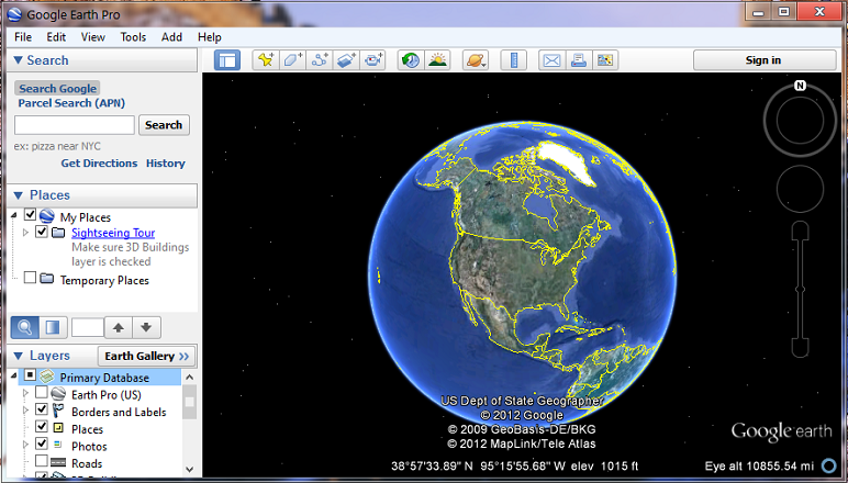 Google Earth Download Free on