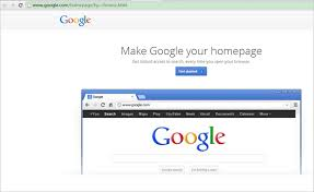How To Make Google My Home Page